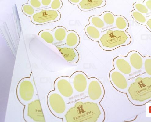Die Cut Sticker